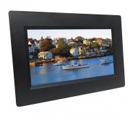 VistaQuest - Pre-Owned - 7-inch Digital Photo Frame - Black
